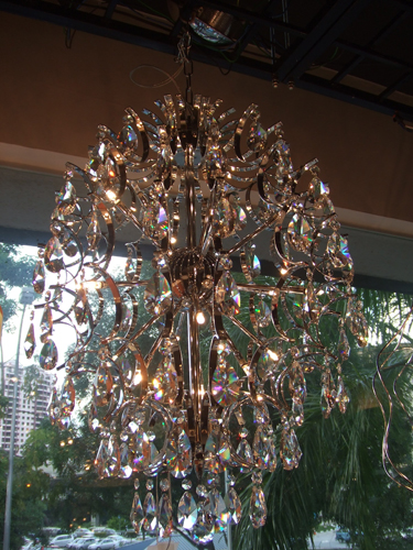 PL188 - PL YL2350-18 CRYSTAL-Modern Pendant Lamp - Crystal ...