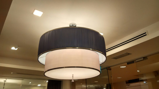 Fabric Chandelier Pendant PL351